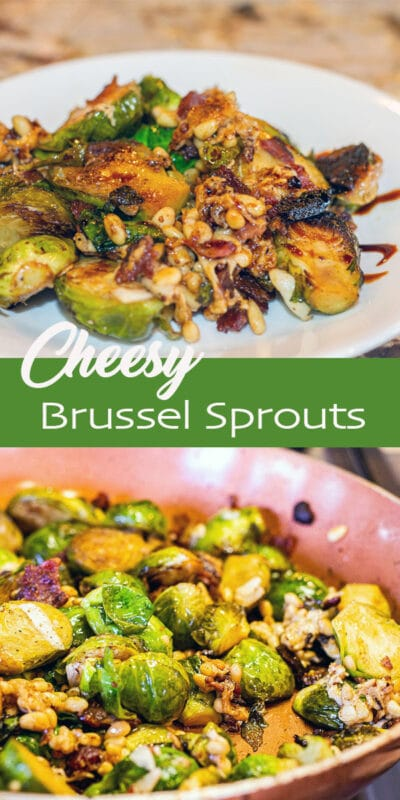 cheesy brussel sprouts
