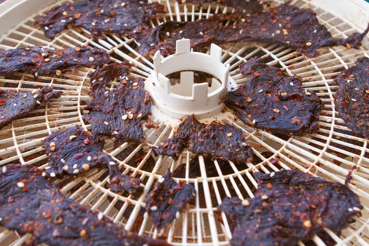 game jerky being dehydrated