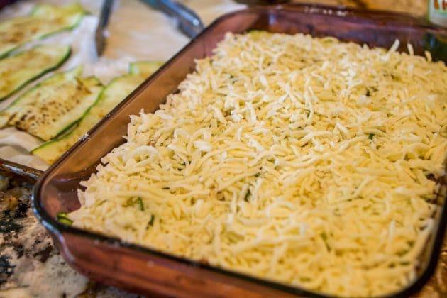 cheesy lasagna low carb