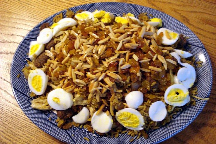 Biryani (Beni's Recipe)