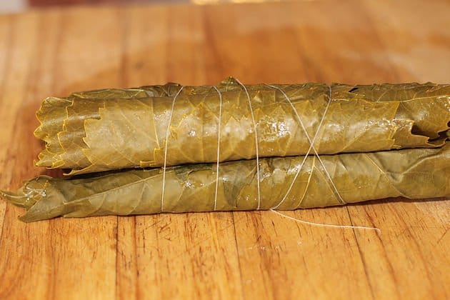 pickled grape leaves