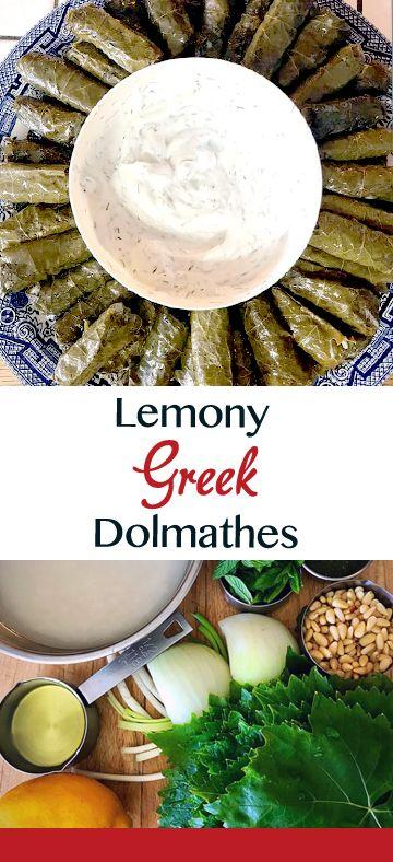 Greek dolmathes