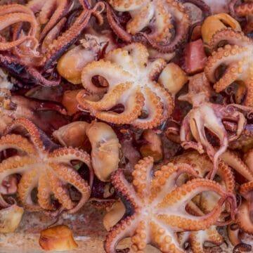 smoked octopus