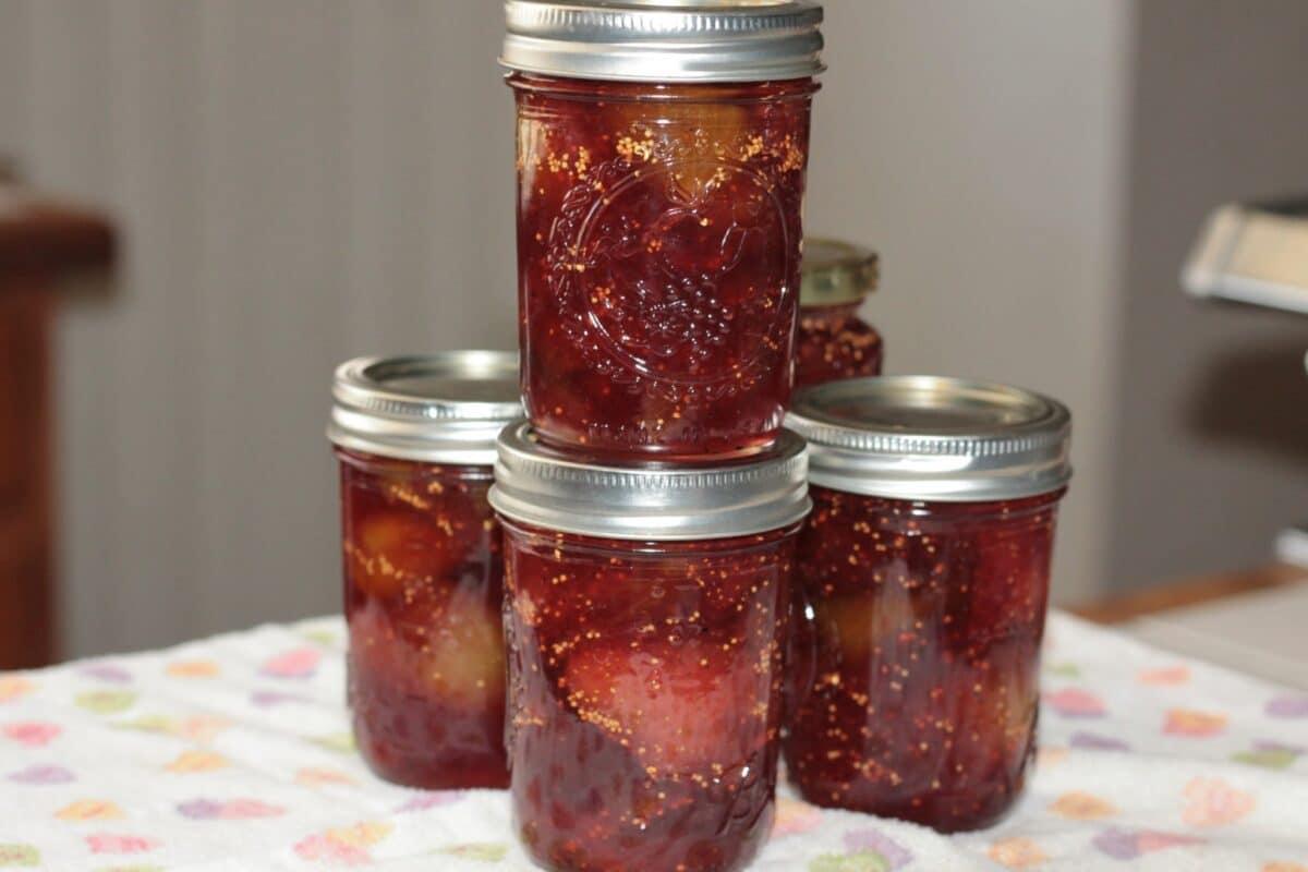 fig strawberry preserves