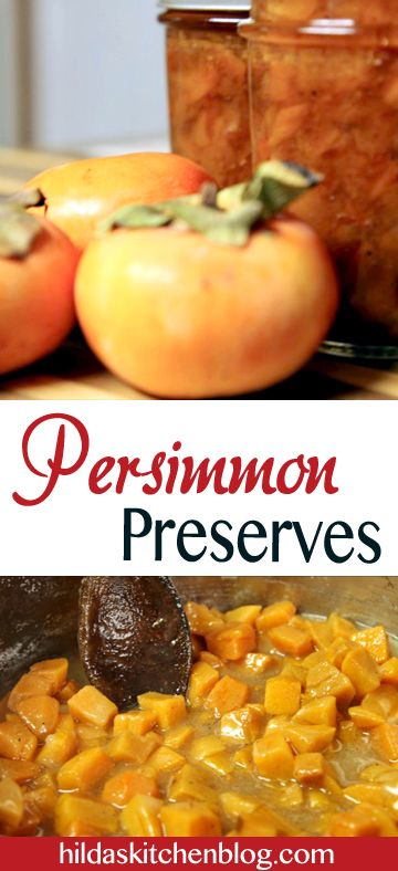 persimmon preserves pin