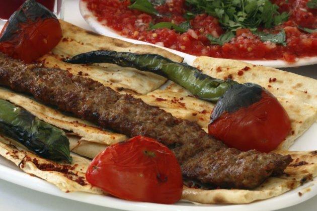 Lamb or Beef Kofta Kabob (Kebab)