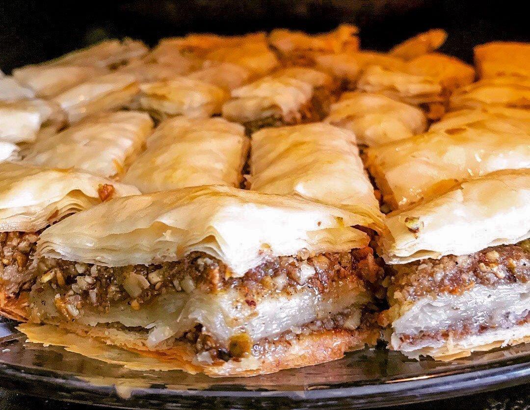 Homemade Baklava (Middle Eastern Recipe)