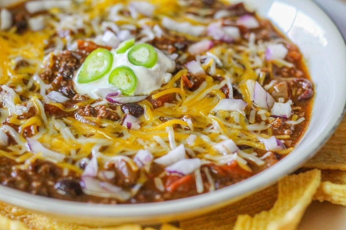 Spicy Bison Chili Recipe