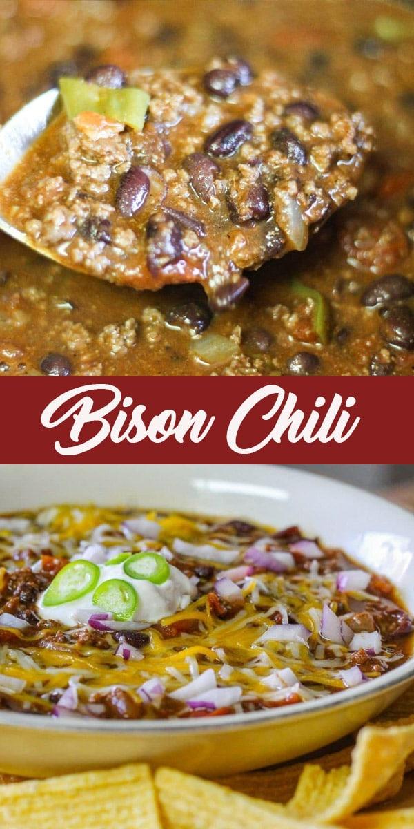 bison chili