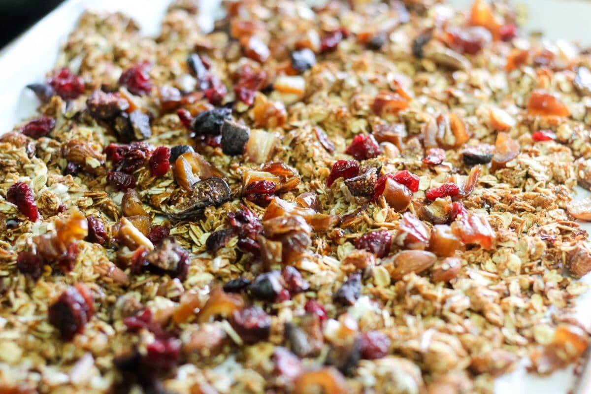homemade granola mix