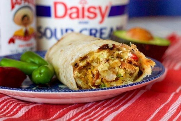 Easy Breakfast Burrito Recipe