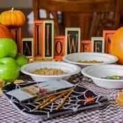 caramel apple ingredients for halloween
