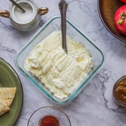 Easy Clotted Cream Gemar Recipe Hildas Kitchen Blog