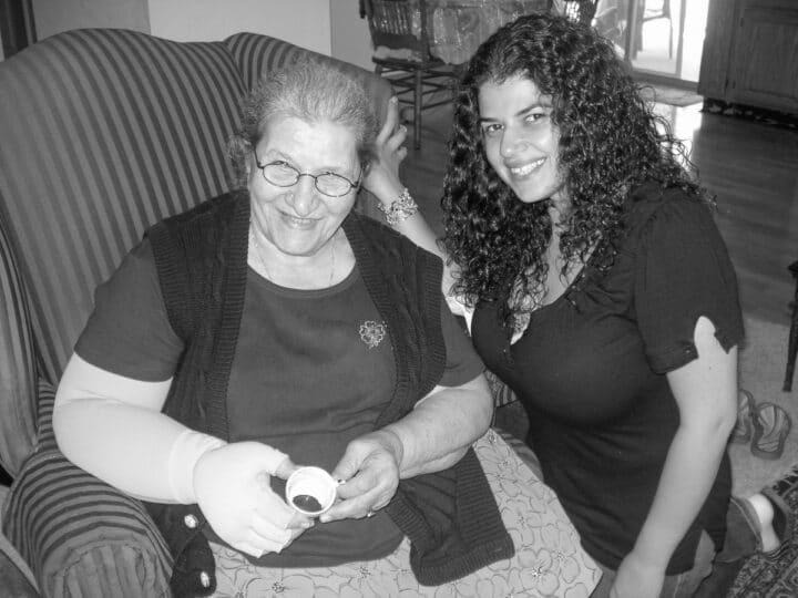 mom and Ninva