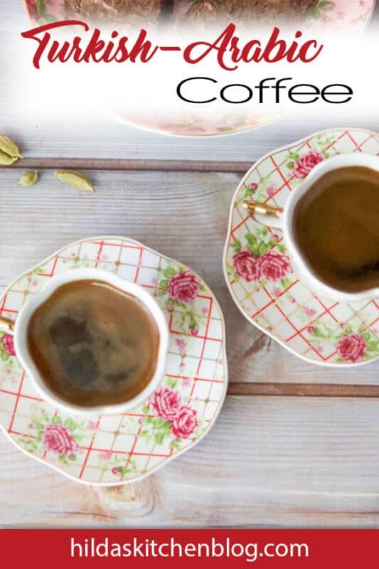 Turkish coffee recipe