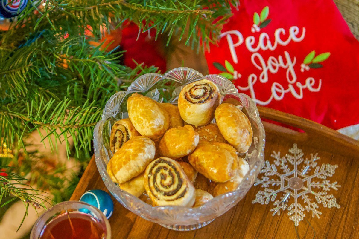 Kileche Recipe (Assyrian Holiday Cookies)