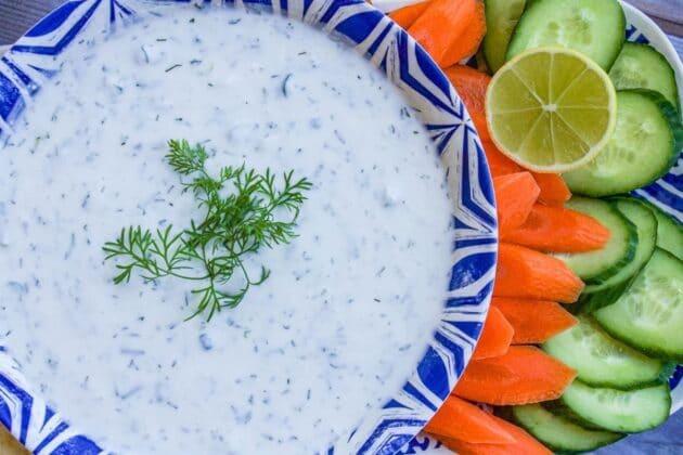 Yogurt Dip For Veggies