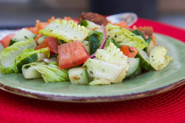 Middle Eastern Salad (Zalata)