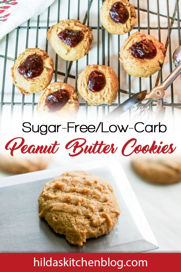 peanut butter cookies pin