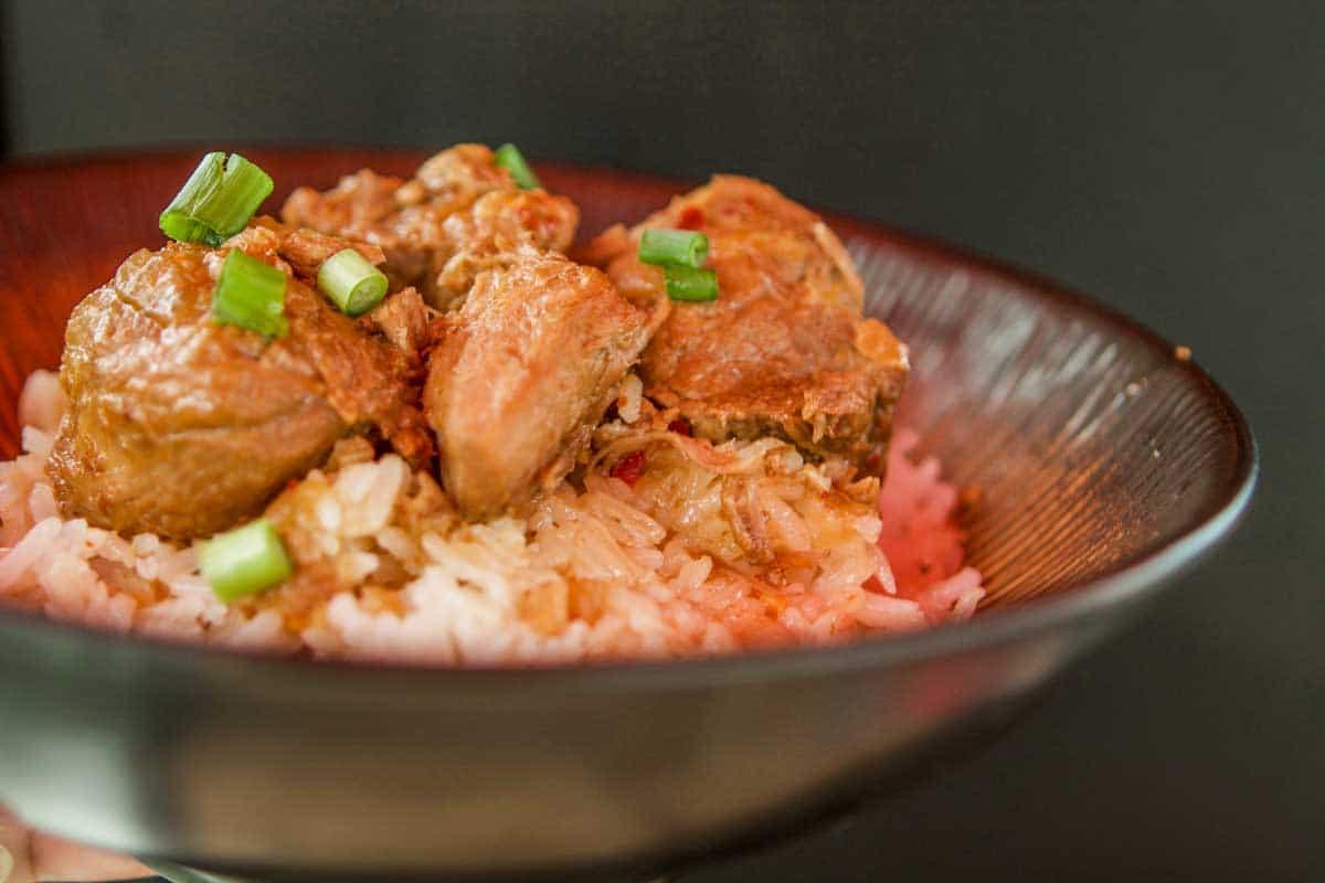 instant pot pork adobo and rice