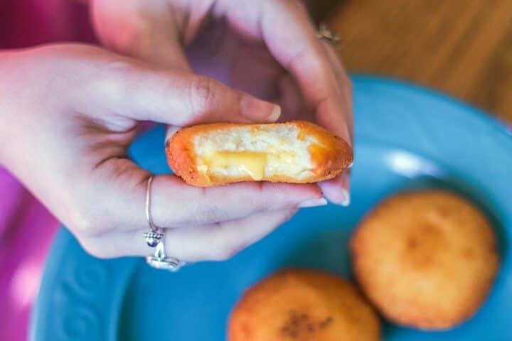 cheesy potato chop