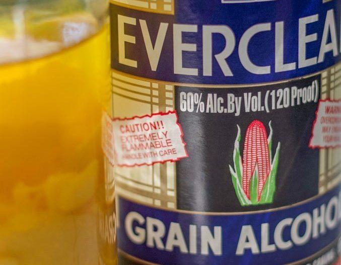 bottle of everclear