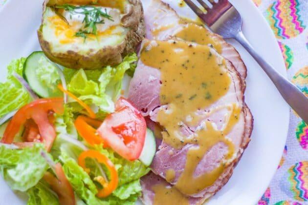 Honey Mustard Sauce for Ham