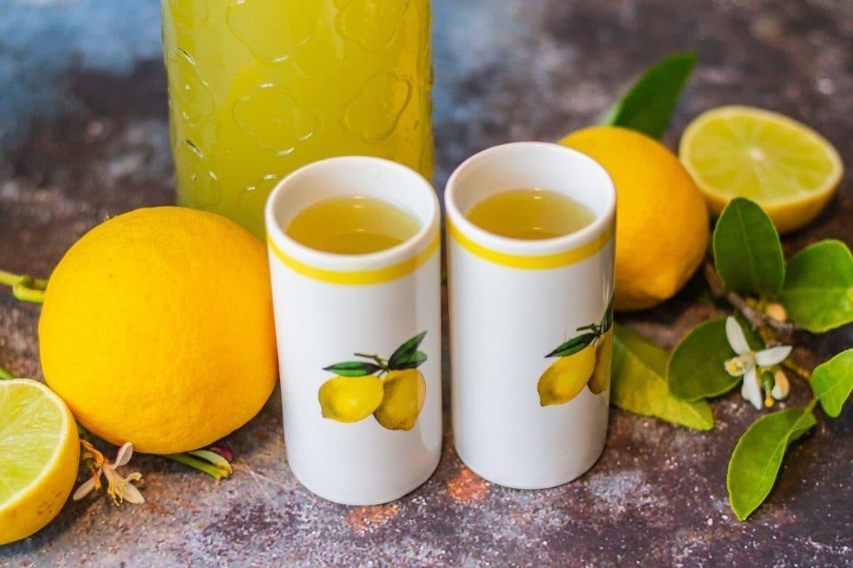 Italian limoncello Recipe