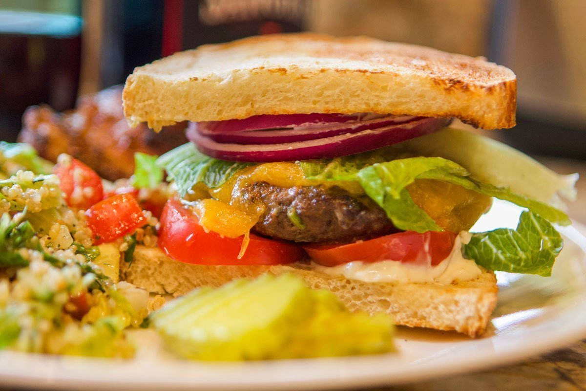 Gourmet Elk Burger Recipe