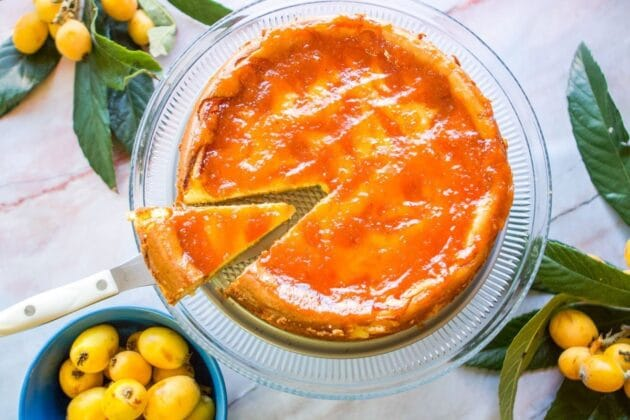 Loquat Cheesecake and Other Loquat Recipes