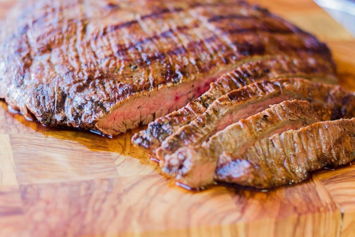 sliced Mexican Carne Asada