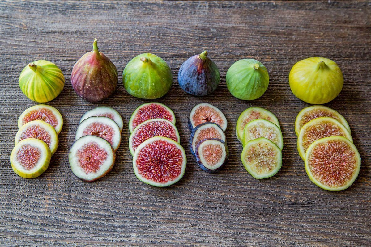 fig varieties sliced