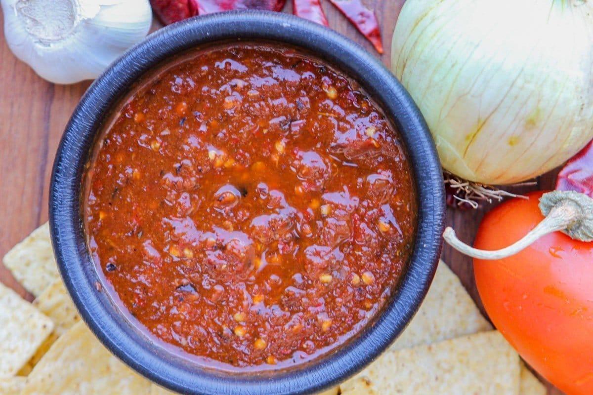 spicy Chile salsa recipe