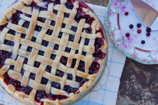 Wild Huckleberry Pie Recipe