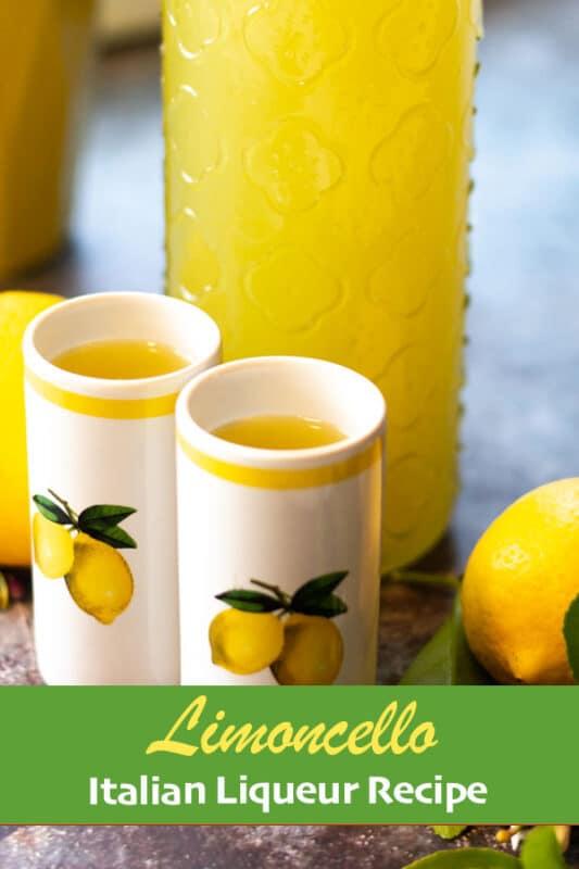 limoncello recipe pin