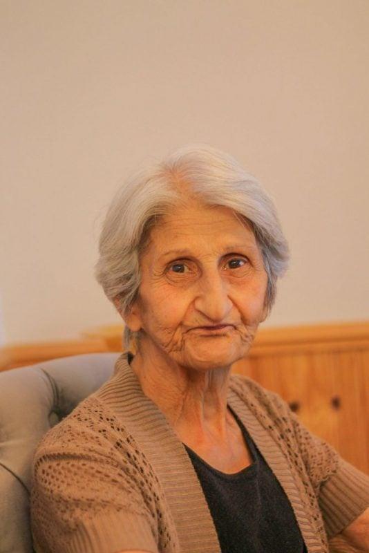 close up photo of aunt Alice