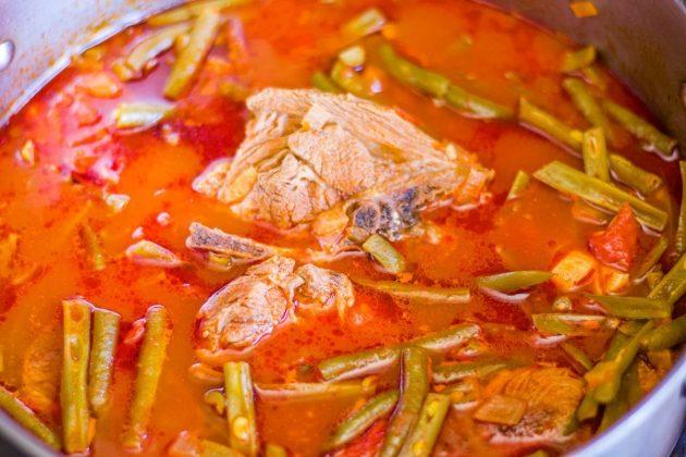 fasolia stew