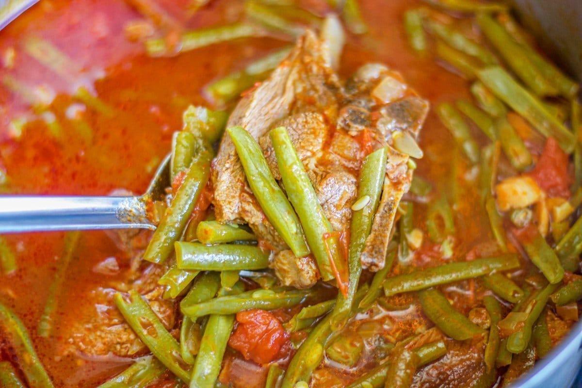 fasolia (bean stew)