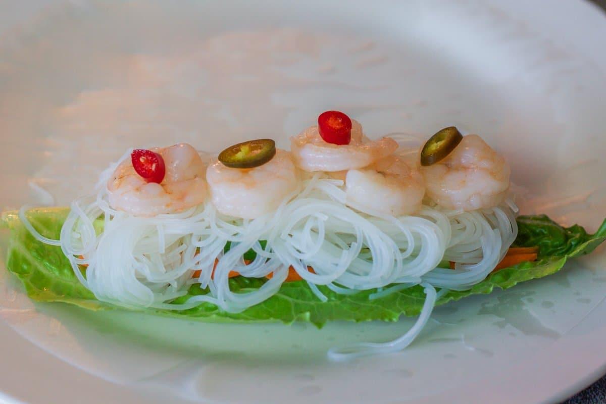rolling Vietnamese Spring Rolls recipe