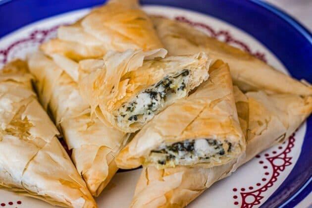 Easy Spanakopita Recipe (Greek Spinach Pies)