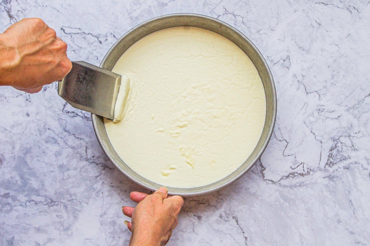 clotted cream in a pan