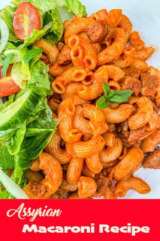 macaroni and salad pin