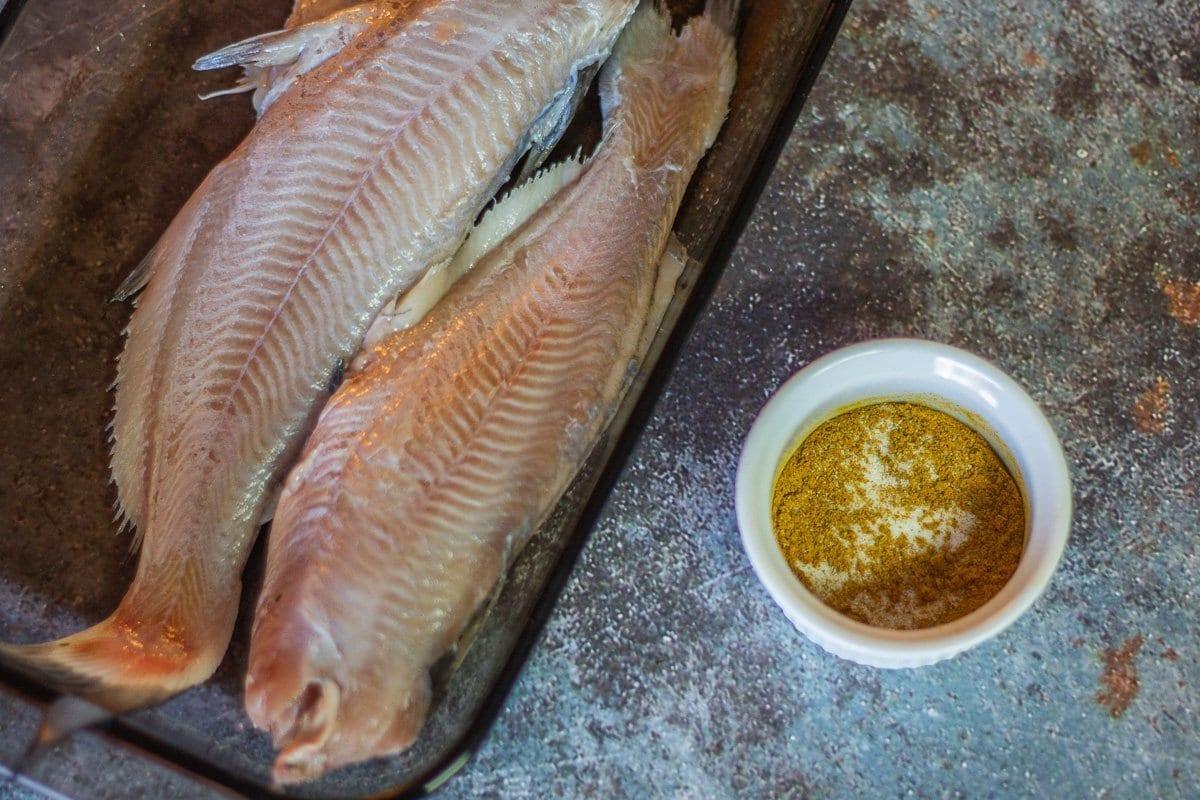 catfish and seasoning