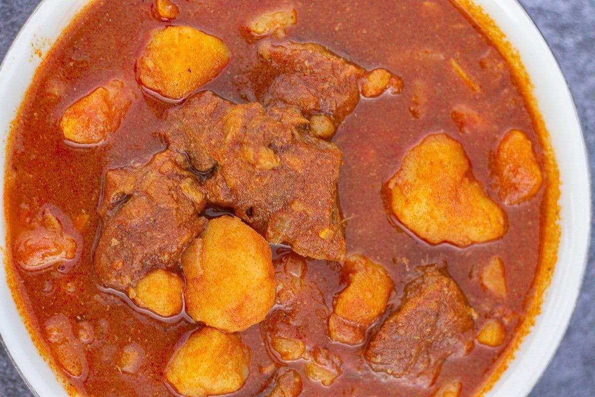 curried potato stew