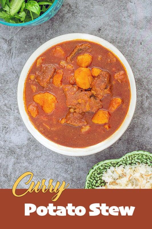 potato curry stew
