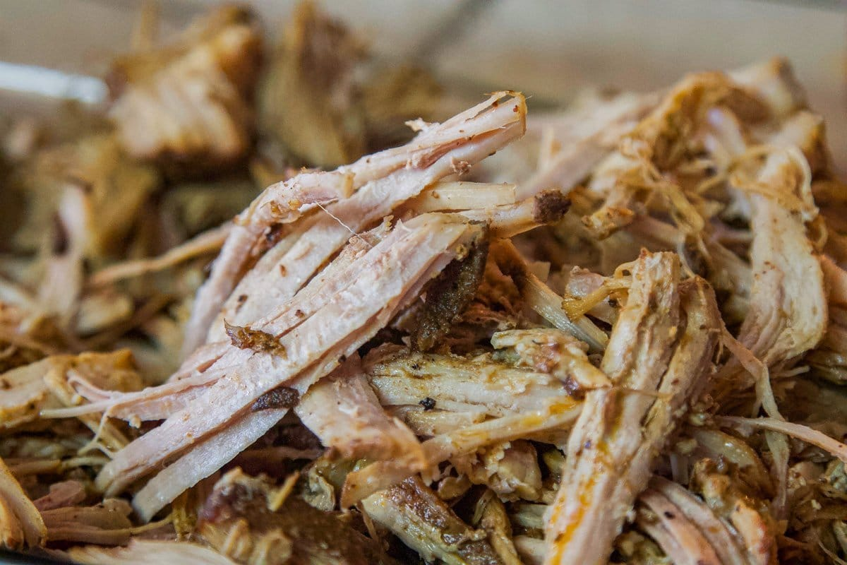 shredded pork