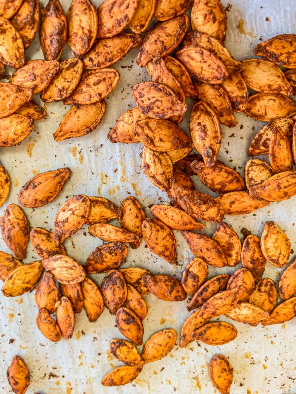 Mexican flavored pumpkin seeds