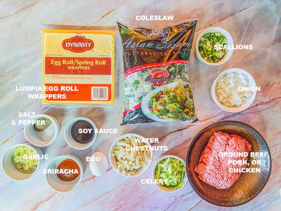 lumpia ingredients