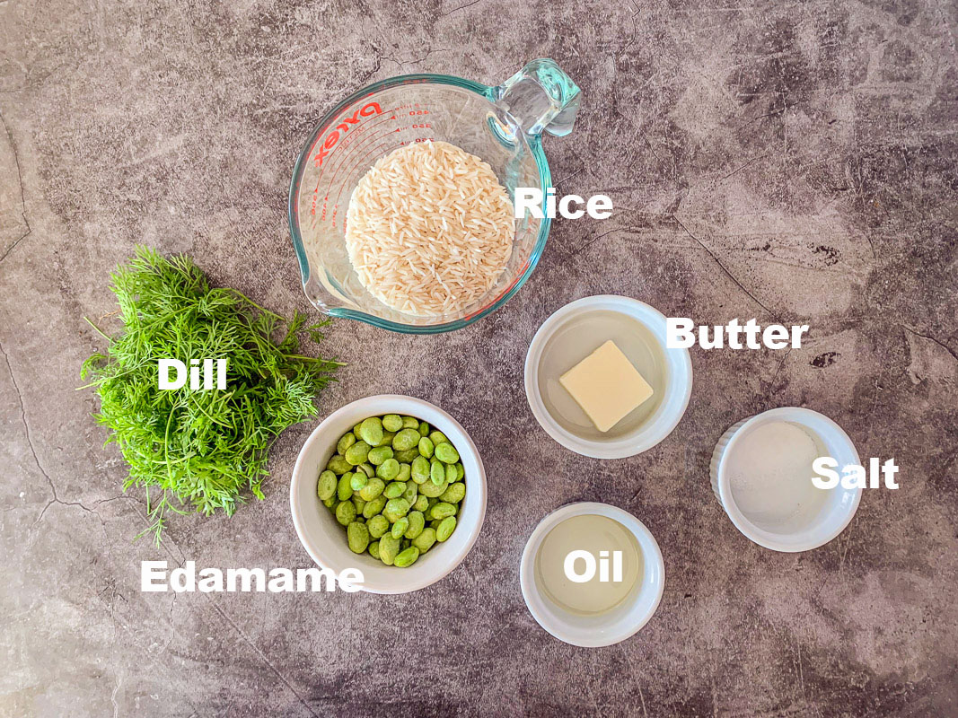 dill rice ingredients
