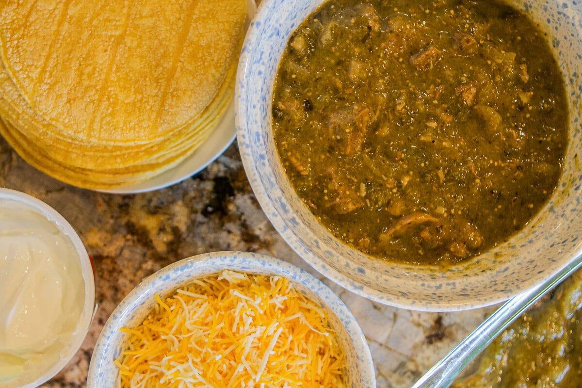 enchilada ingredients